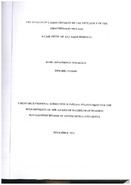 Effects of e-procurement on the efficiency of the